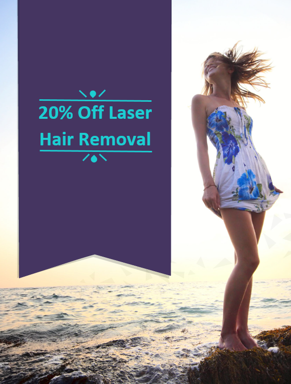 20% off laser hair removal